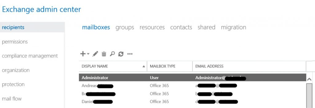 On-premises Exchange ECP with Remote Mailbox in O365