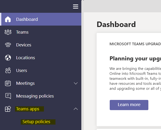 Customize Microsoft Teams app bar - How to setup