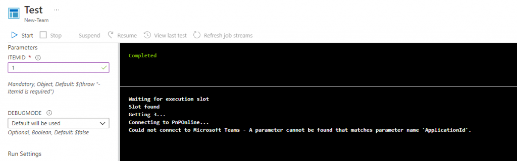 Error message during Connect-MicrosoftTeams with current module 2.6.0 - ApplicationId is an unknown parameter